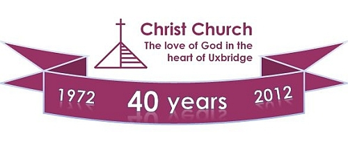 40th anniversary celebrations - Christ Church, Uxbridge