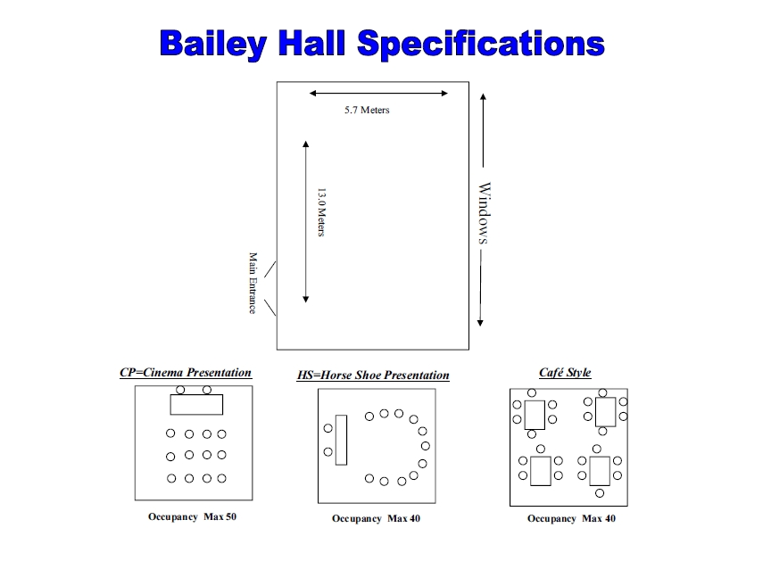 Bailey Hall - rooms for hire - Christ Church, Uxbridge