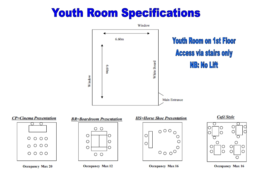 Youth Room - rooms for hire - Christ Church, Uxbridge