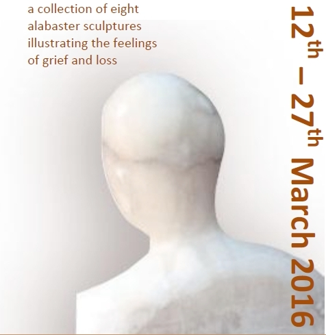Good Grief - an exhibition of sculptures by Jean Parker at Christ Church, Uxbridge - 12th-27th March 2016