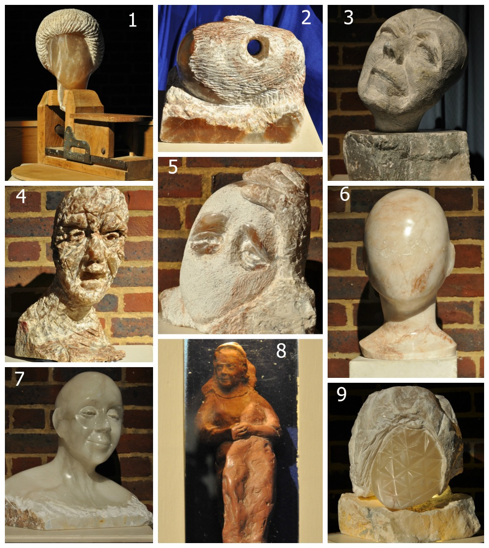 Good Grief sculptures at Christ Church, Uxbridge