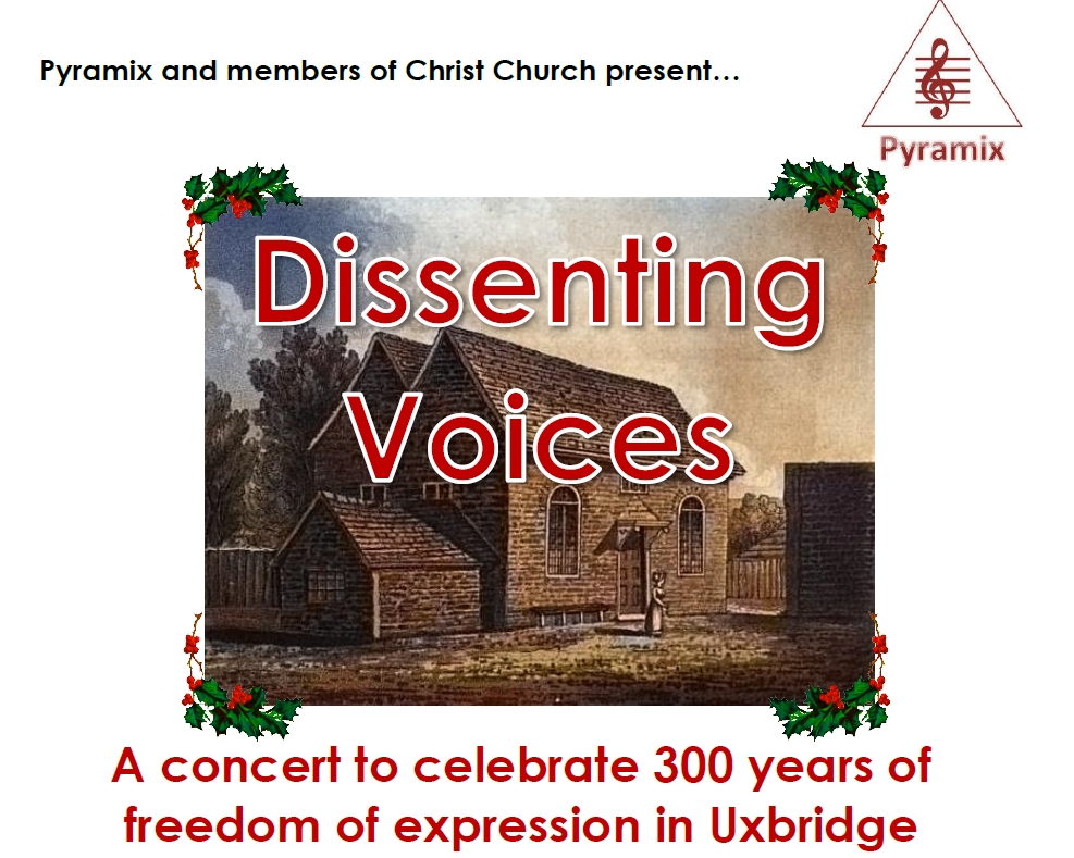 Dissenting Voices poster