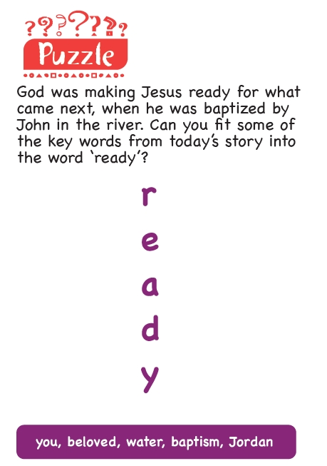 An acrostic puzzle