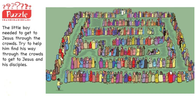 A maze puzzle