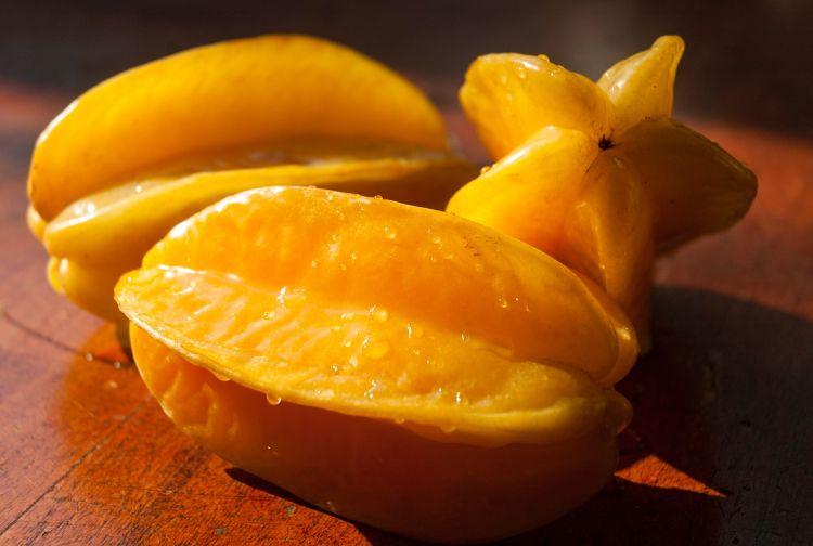 Starfruit on a table